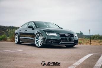 "16"" Audi A7 on Vossen Wheels"