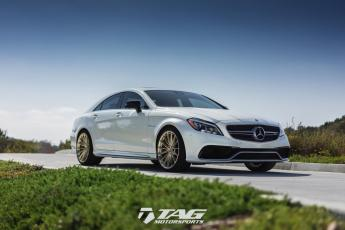 "16' CLS63 on 20"" HRE P103 Wheels"
