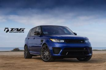 "16' Range Rover SVR on 23"" Startech Wheels"
