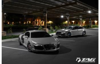 16' RS7 + R8 MATTE NARDO GREY