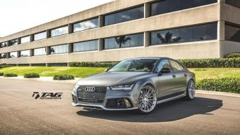 16' RS7 ON HRE P103 WHEELS