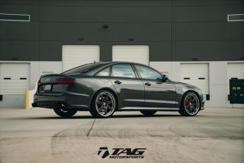 "16' S6 on 21"" HRE RS101"