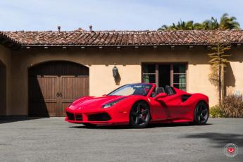 17' 488 Spider on Vossen GNS-1 Wheels