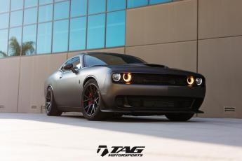 "17' Dodge Challenger Hellcat on 20"" Vossen VPS306"