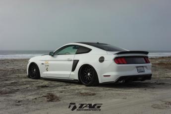 17' Mustang GT on HRE Wheels