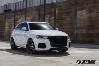"17' Q3 on 20"" Vossen VFS6"