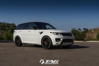 "17' Range Rover Sport Autobiography on 22"" Vossen CG203 Wheels"