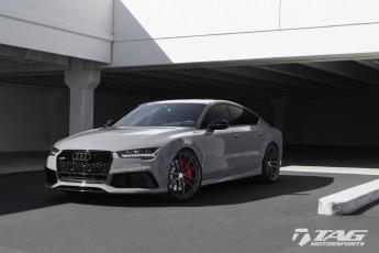 "17' RS7 on 21"" HRE P104 Wheels"