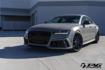 "17' RS7 on 21"" HRE P201 Wheels"
