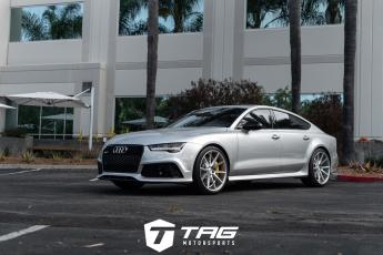"17' RS7 on 21"" VFS1 Wheels"