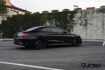 "16' S63 Coupe on 22"" Vossen CVT"
