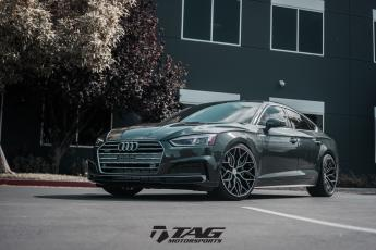 "18"" Audi A5 on Vossen Wheels"