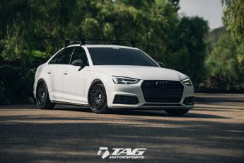 "18"" B9 S4 on HRE Wheels"