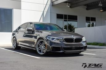 18' BMW 550i on Vossen Wheels