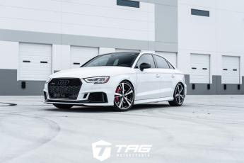 18' Audi RS3 on H&R VTF HAS