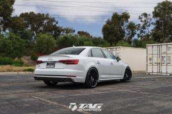 "18' B9 S4 on 20"" HRE FF15 Wheels"
