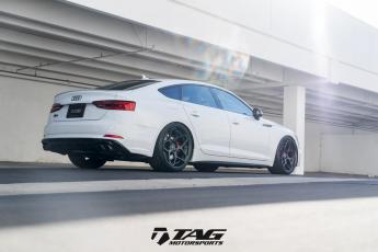 "18' B9 S5 Sportback on 20"" Vossen Forged CG-205"