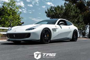 18' Ferrari GTC4 Lusso on HRE RS300