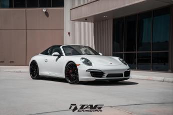 """18"""" Porsche 991 Targa 4S on AG Wheels"""