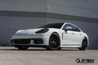 18' Porsche Panamera with TAG Blackout Package