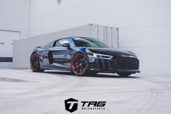 18' R8 on HRE S204 Wheels