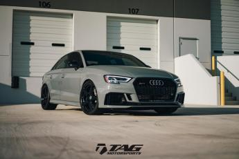 18' RS3 on HRE RS205M Wheels