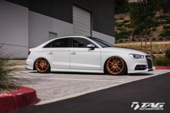 "18' S3 on HRE FF04 19"" Wheels"