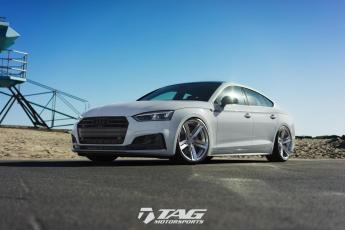 18' S5 Sportback on Rotiform OXR Wheels