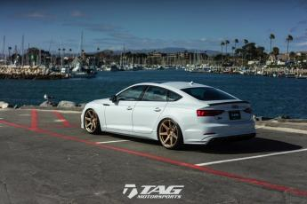 "18' S5 Sportback with ABT Aero and 20"" HRE RS208M"