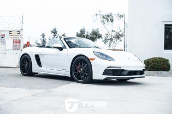 19' Boxster GTS on HRE FF01 Wheels