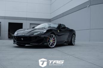 19' Ferrari Portofino on Vossen x Novitec Wheels
