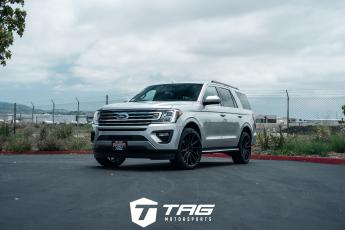 19' Ford Expedition on Vossen HF6-1 Wheels