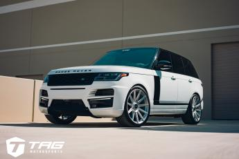 19' Range Rover on Vossen S17-12