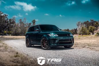 19' Range Rover Sport SVR