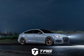 19' RS5 on HRE P111SC