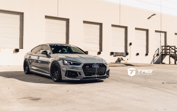 "19' RS5 Sportback on 20"" HRE Classic 300"