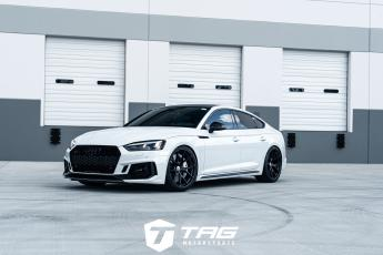 "19' RS5 Sportback on 20"" HRE P101 Wheels"