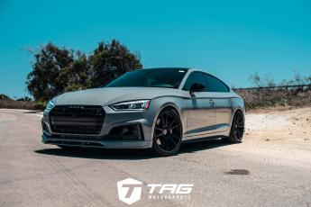 19' S5 Sportback on HRE FF04 Wheels