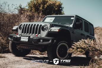Wrangler Rubicon with Mopar Wheels and Red Leather