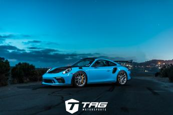 19' Porsche 991.2 GT3 RS Weissach Package on HRE RC104