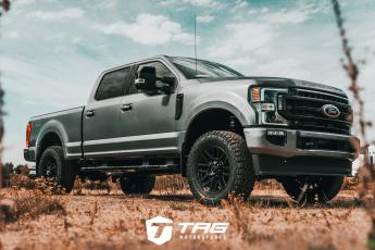 2020 F250 Lariat Lifted on Offroad Tires