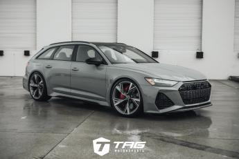 Nardo Grey RS6 with CETE Lowering