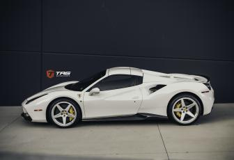 488 Spider on Vossen GNS-1 Wheels