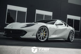 812 Superfast with Novitec Springs on HRE P104SC