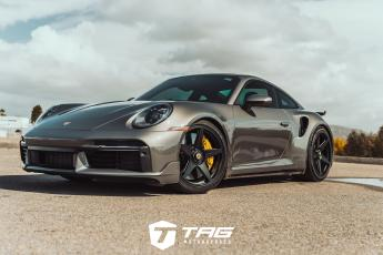 992 Turbo S Coupe on Vossen GNS-1 Wheels