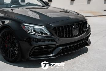 AMG C63 with TAG Blackout