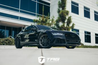 Audi RS7 with TAG Blackout and TSW Wheels