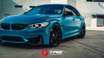 19' M3 Competition on HRE FF04 Wheels