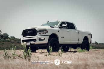 "RAM 2500 with Black Method Wheels and 5"" Lift"