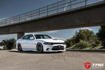 Dodge Charger Scat Pack on HRE FlowForm FF10s